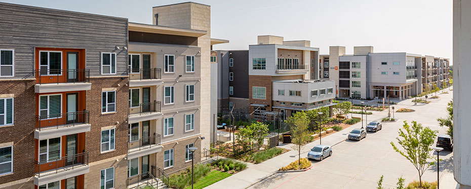University of Texas at Dallas: Northside Mixed Use Student Housing Development