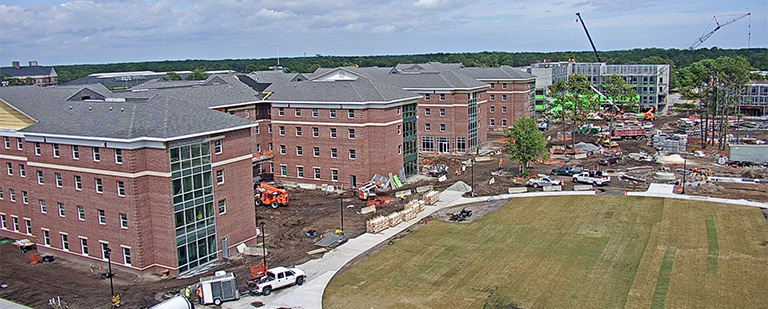 University of North Carolina at Wilmington Housing Village Construction
